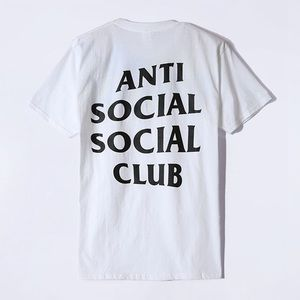 f6dabeb39ff7 Authentic anti social social club T-shirt